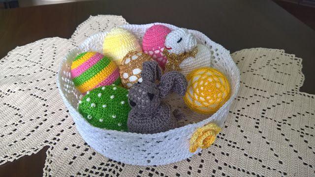 SZYDEŁKO ANI: Wielkanocny koszyczek