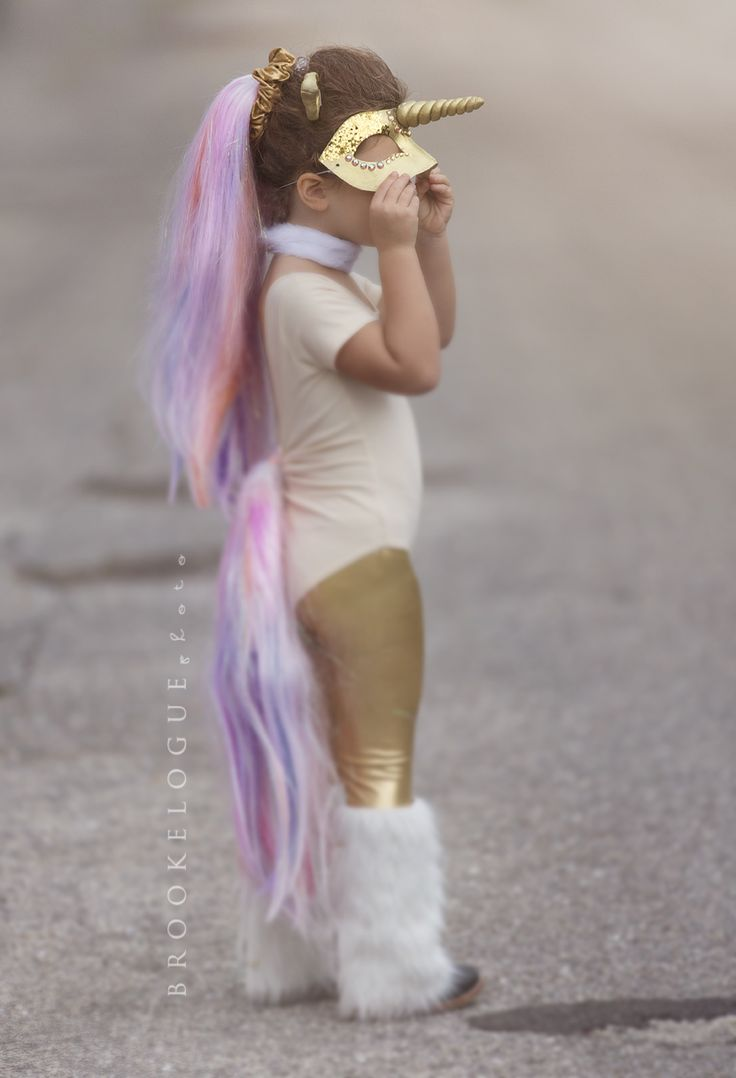 @brookeloguephotography featuring American Apparel KIDS in a Unicorn Halloween…
