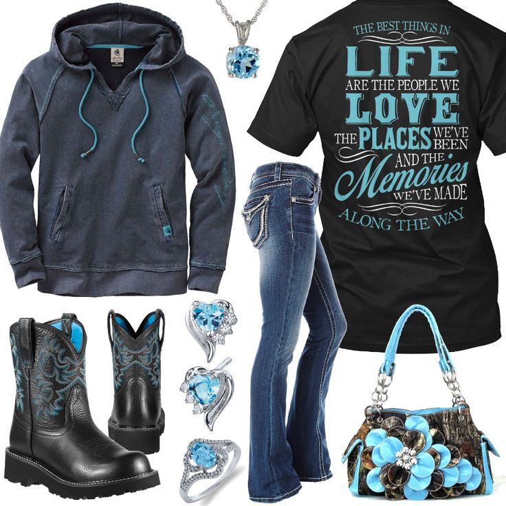 Best Things In Life Outfit - Real Country Ladies. Different boots but the rest is super cute