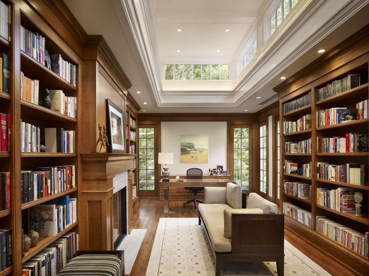 66 best Home Libraries images on Pinterest