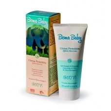 Bema Baby Barrier Effect Protective Cream Specially designed to prevent chapping, rashes and irritations caused by nappy friction, this formulation is an effective barrier cream for the nappy area. The product absorbs easily without greasiness. The moisturising action of its active principles softens the skin, making it smooth without disturbing its pH balance.