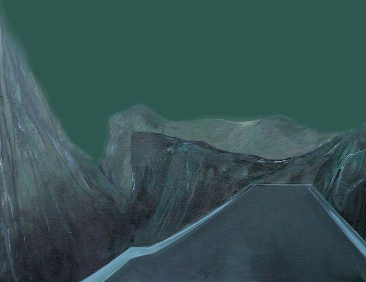 Filiz Piyale, İsimsiz / Untitled, 2015, Tuval üzerine karışık teknik / Mixed media on canvas, 110x140cm