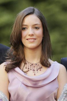 Princess Alexandra of Luxembourg, a former student at Franciscan University in Ohio.