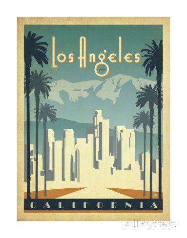 Los Angeles, Californie Reproduction artistiques