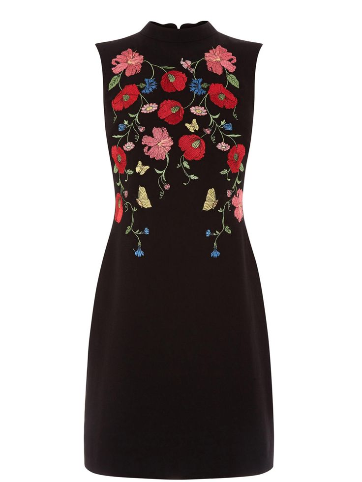 Buy your Oasis Poppy Embroidered Shift Dress online now at House of Fraser. Why not Buy and Collect in-store?