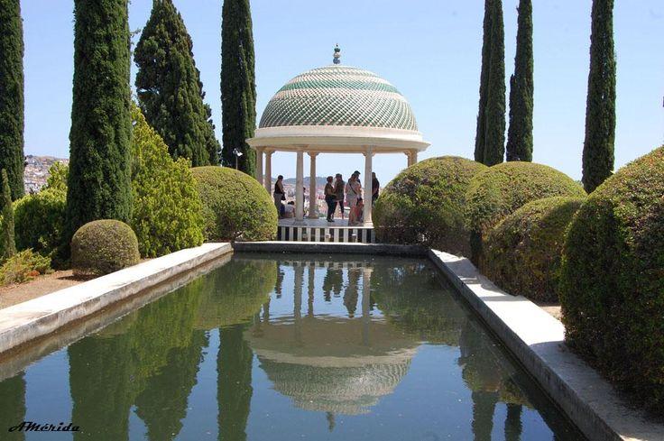 Jardín botánico de Málaga (Spain)