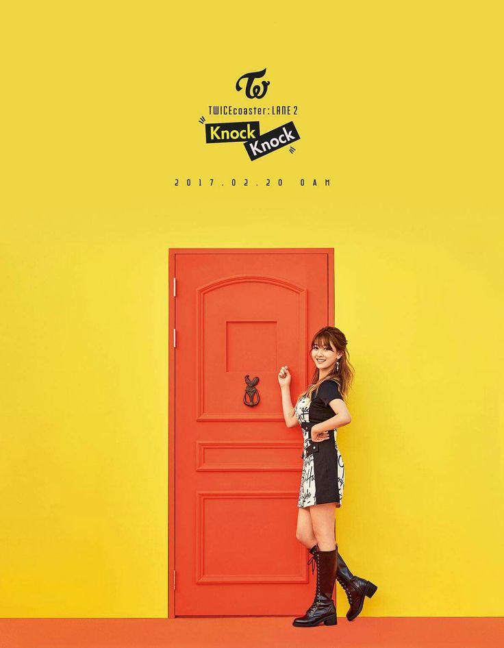 TWICE SPECIAL ALBUM <TWICEcoaster : LANE 2>  JIHYO KNOCK KNOCK 2017.02.20 0AM   #TWICE #트와이스 #KNOCKKNOCK