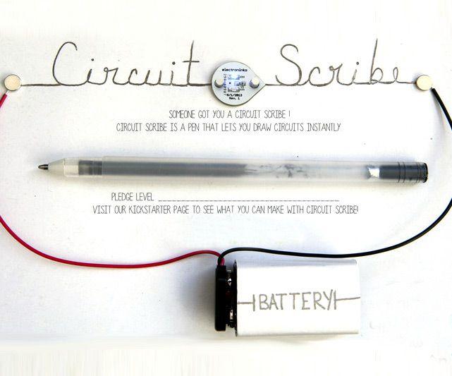 Circuit Scribe Conductive Rollerball Pen   DudeIWantThat.com