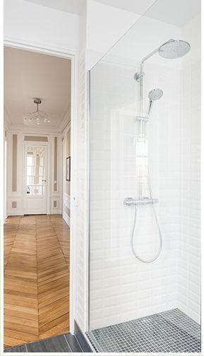 1000 id es sur le th me paroi douche italienne sur for Paroi vitree douche italienne