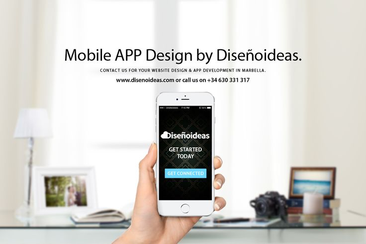 Mobile APP design by Disenoideas Marbella www.disenoideas.com Mobile website technology
