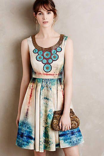Villette Necklaced Dress