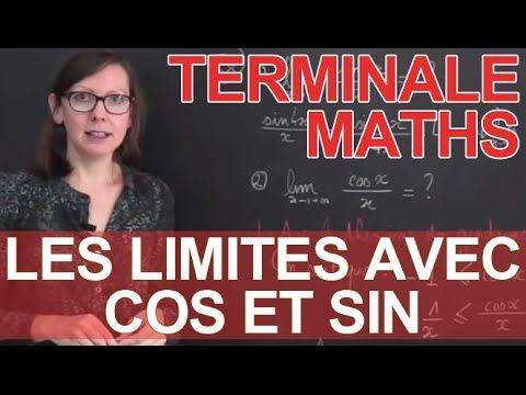 Les limites avec cos et sin - Trigonométrie - Maths terminale - Les Bons...