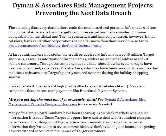 85 best Dyman \ Associates Projects images on Pinterest Risk - project risk assessment