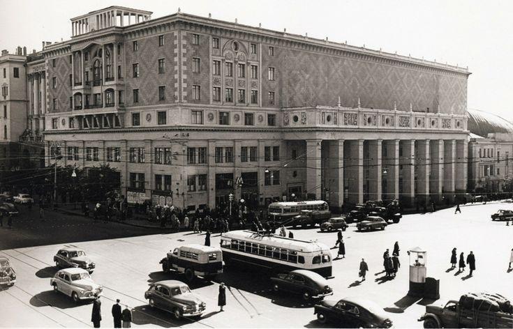 Chaikovsky concert hall, 1950s