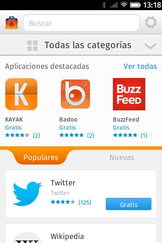 FirefoxOS Marketplace #firefoxOSshot