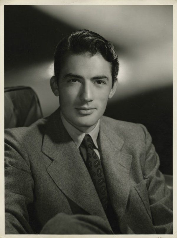 Portrait of Gregory Peck, 1940's..there's something very timeless about him.