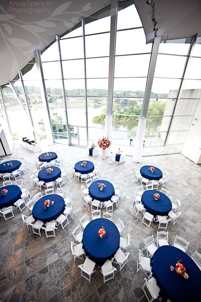 Anna And Spencer Photography Wedding Reception Venue Hunter Museum Of American Art