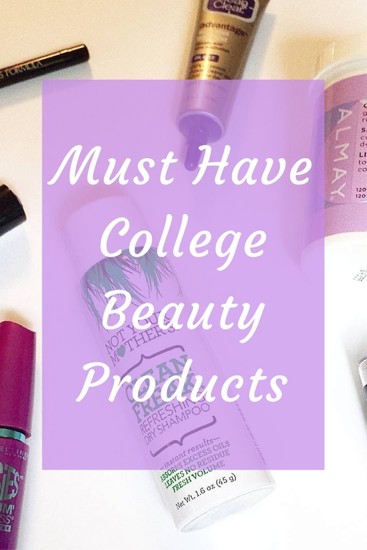Hey beautiful! Today I'm doing something new on the blog and talking about my college beauty essentials. While makeup is definitely not for everyone, I enjoy wearing it (and buying it), so I'm going to share my must have products with you! The items I list below are all found at drugstores and fit