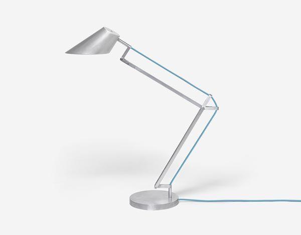 Alumen - Aluminum Designer Desktop Lamp by Simon Frambach