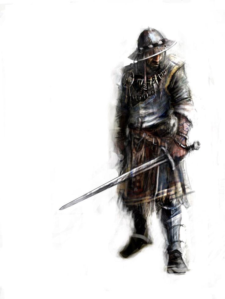 Avanturion MMO strategy game - soldier concept art by chrzan666 on deviantART