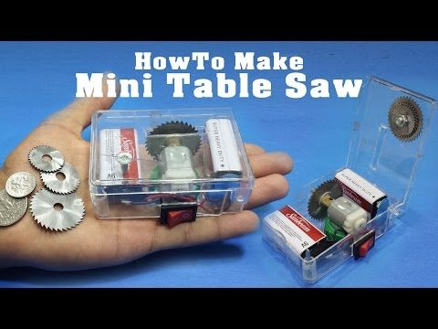 274 best circular saw jig images on pinterest tools woodworking how to make minimicro table saw adjustable portable miniature circular saw greentooth Choice Image