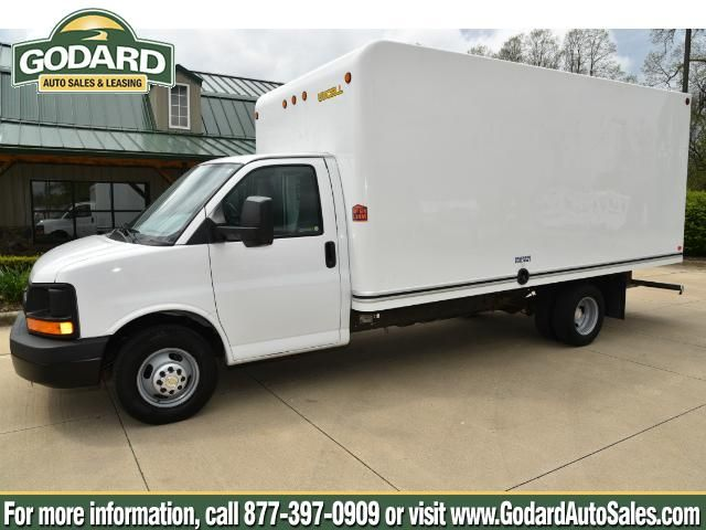 Just what you're looking for:   2015 Chevrolet Express Commercial Cutaway    16' Uni-Cell Box    Godard Auto Sales & Leasing Co  1252 Medina Rd   Medina, OH 44256  http://www.godardautosales.com  (877) 397-0909    #godard #truck #big #van #storage #vroom