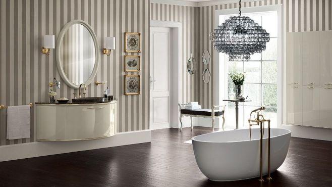Lüks İtalyan Banyo Tasarımları - Şık, baştan çıkarıcı ve sansasyonel banyo tasarımlarının klasik ile çağdaşlığın ideal karışımından örnekler…