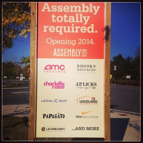 Assembly Row, Somerville, MA.