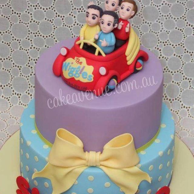 The Wiggles Cake! Love!