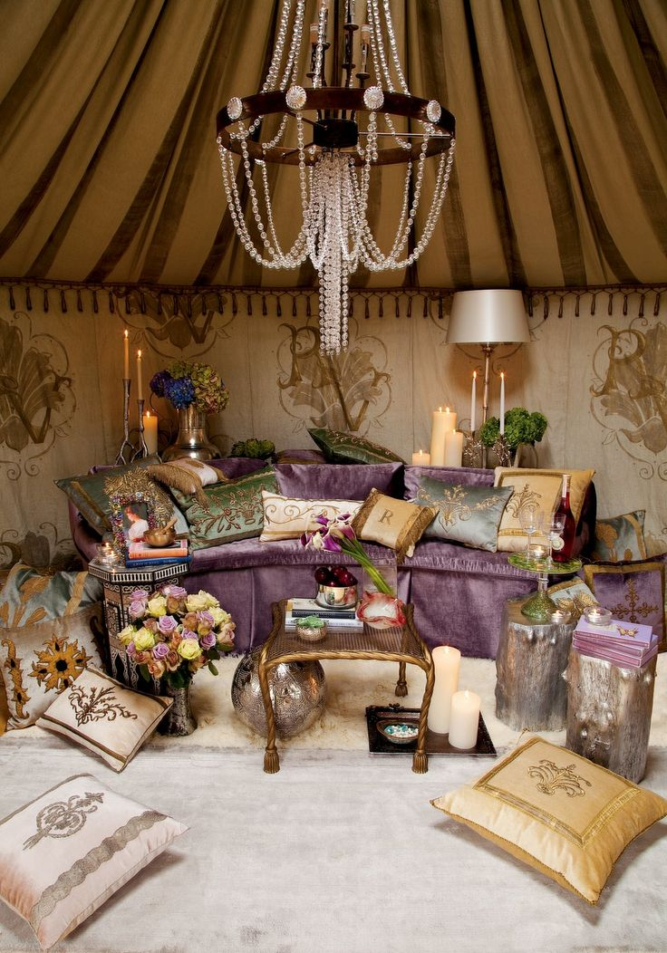 Dream Folly Yurt  Interior