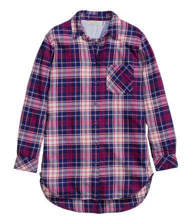 H&M Checked flannel shirt $29.95