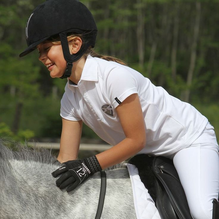 Перчатки Дет. FOUGANZA - Верховая езда Верховая езда - В продаже на decathlon.ru