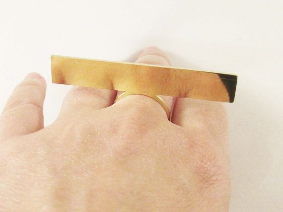 Knuckle Ring, Stacking Rings. Ultra Thin Geometric Ring. Delicate Ring. Size 7 ring.