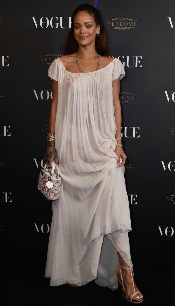 Get the Look: Rihanna At Vogue Paris 95th Anniversary