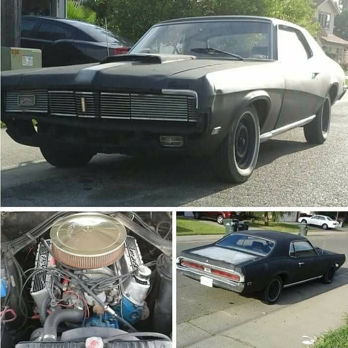 69 mercury cougar xr7 old school muscle car for sale!!4000 obo ...