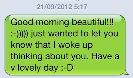 CUTE GOOD MORNING TEXT MESSAGES FOR HER TUMBLR ~ FindMemes.com