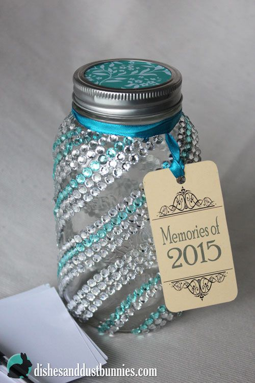 Make This Mason Jar Craft Dollar Store Diy New Year