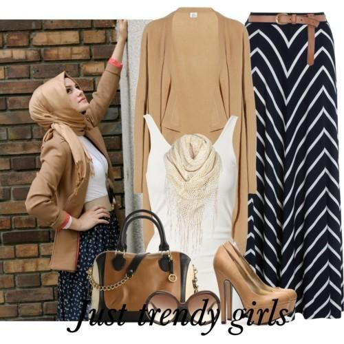 Hijab street style looks | Just Trendy Girls