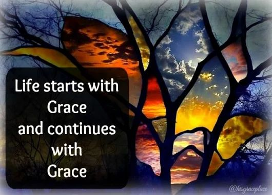 "Be persuaded to continue, to trust and to stand fast in the Grace of God. (Acts 13:43)   ""The Christian life starts with Grace, it must continue with Grace, Grace wondrous Grace. By the Grace of God, I am what I am. Yet not I, but the Grace of God which was with me."" ~ D. Martyn Lloyd-Jones (1899-1981)"