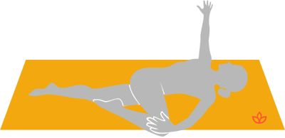 supine spinal twist pose in 2020  yoga balance poses