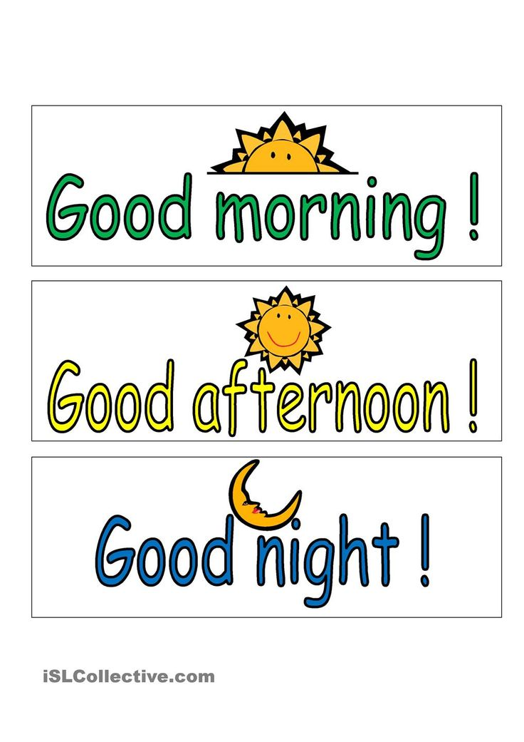 Good Morning And Goodnight In French : Images about greetings on pinterest kids