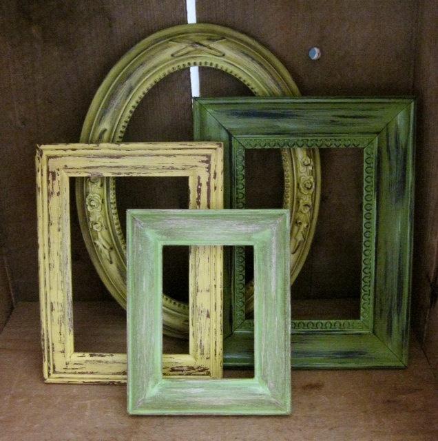 Tropical Decor Picture Frames Set of 4