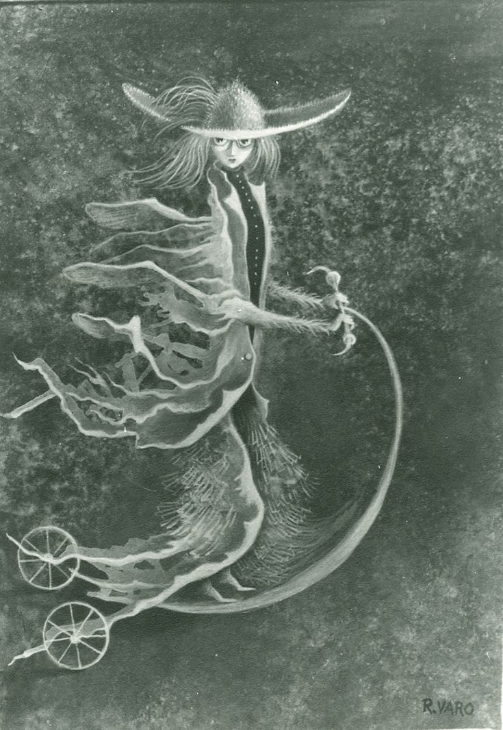 Cat.290-Personaje-1960 - Remedios Varo