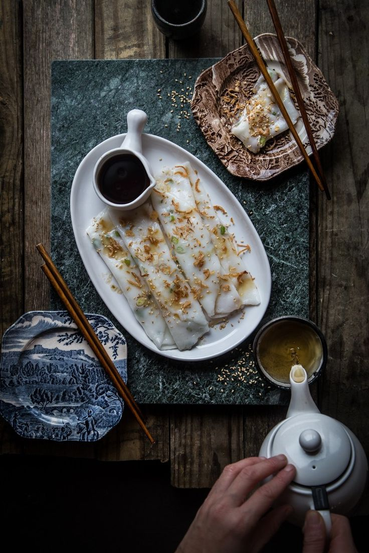 2368 Best Food Drinks Images On Pinterest Asian Recipes Makaroni Rasa Banana Taro Chee Cheong Fun Steamed Rice Rolls