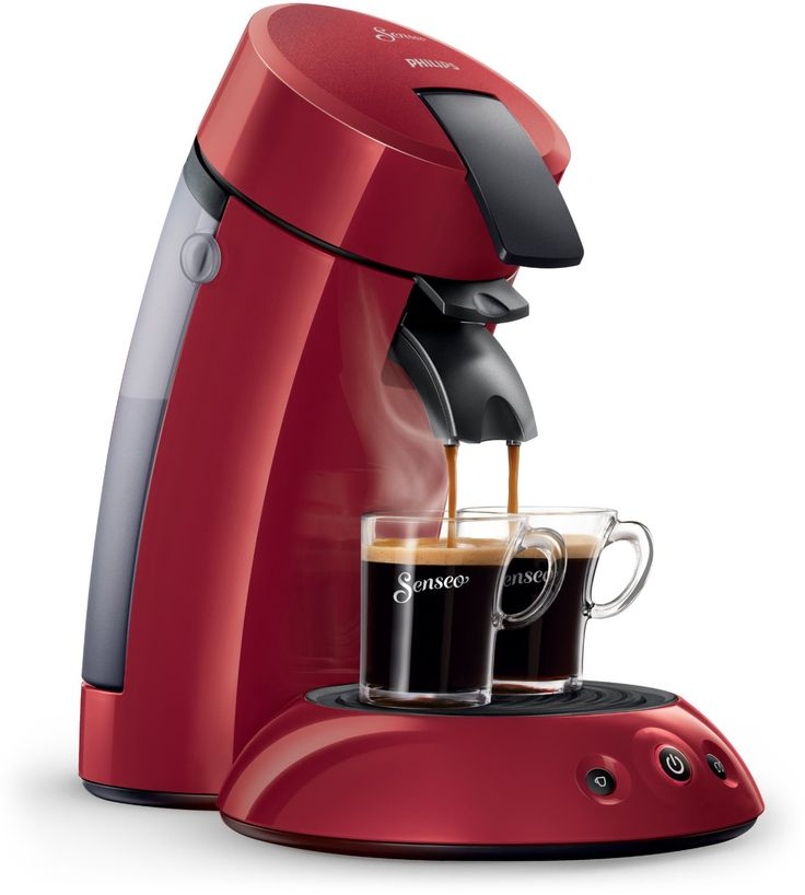Senseo Original HD7817 Pod coffee machine 0.7L 5cups Red - coffee makers (freestanding, Fully-auto, Pod coffee machine, Senseo, Coffee pod, Caffe crema)
