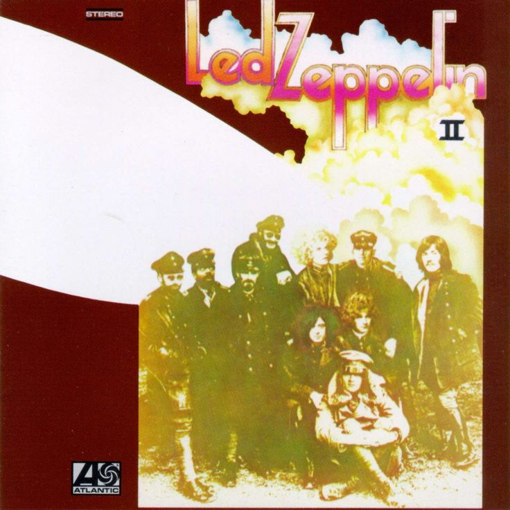 zepplin album cover - Bing Images  This has the song Thank You on it   (our song)