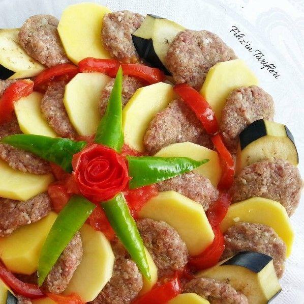 www.sosyaltarif.com wp-content uploads 2016 06 Firinda-patatesli-patlicanli-kofte.jpg