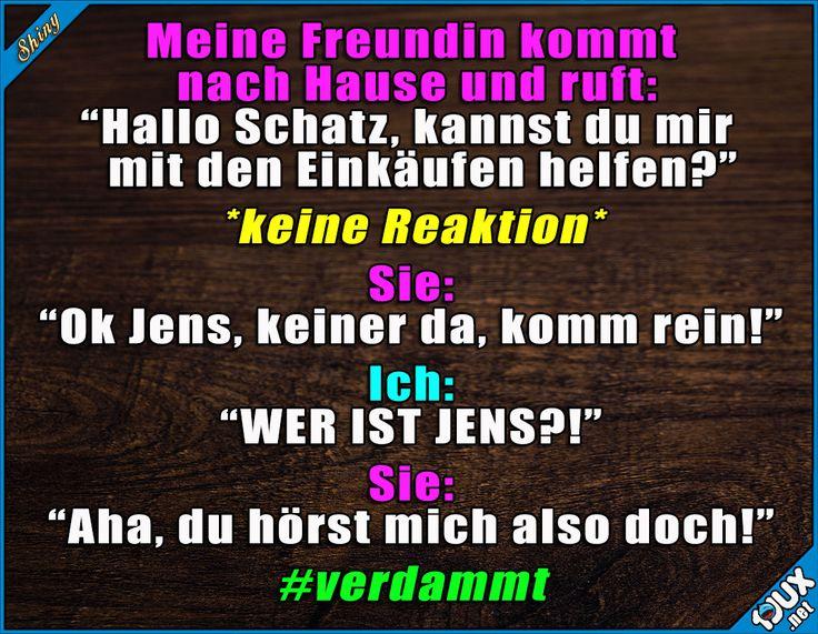 Voll erwischt! #reingelegt #jetztmussichhelfen #Freundin #Beziehung #lustig #Sprüche #Humor #lachen Humour