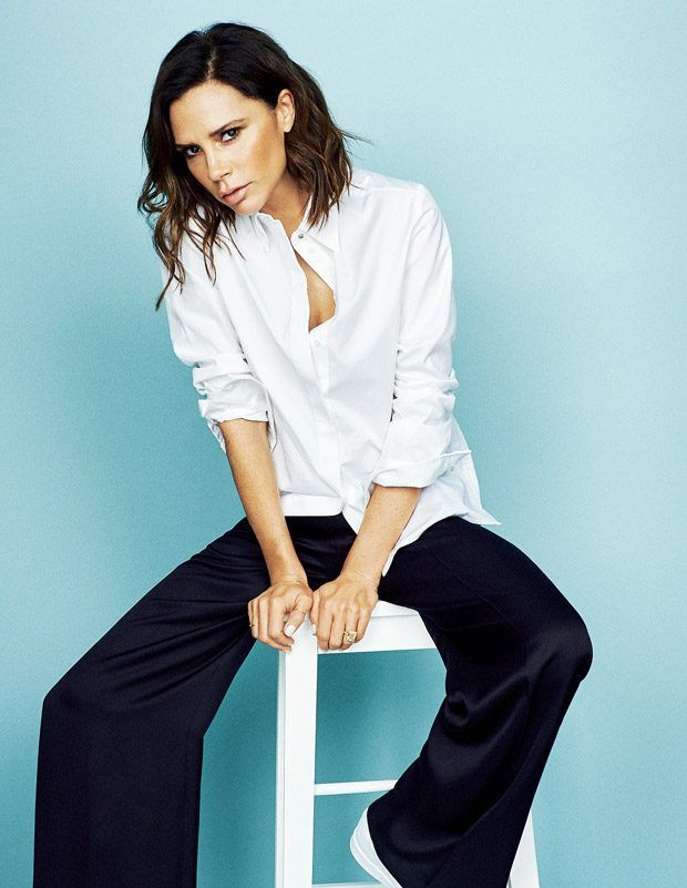 Victoria Beckham Stars in The Sunday Times Style Cover Story