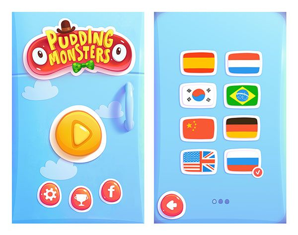 20 UI Design Examples From Mobile Games | Web & Graphic Design ...